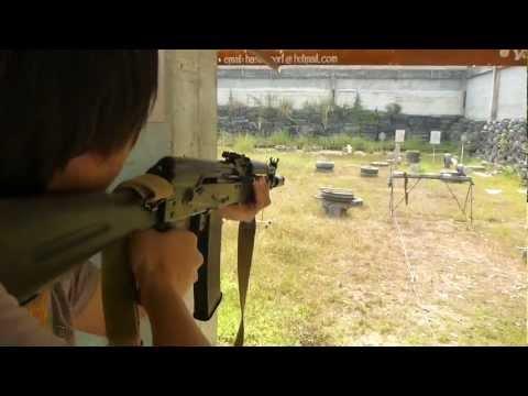 เกราะกันกระสุน ทดสอบ อาก้า AK 102 (5.56) ตอน 1 / D.I.Y Armor Plate 01