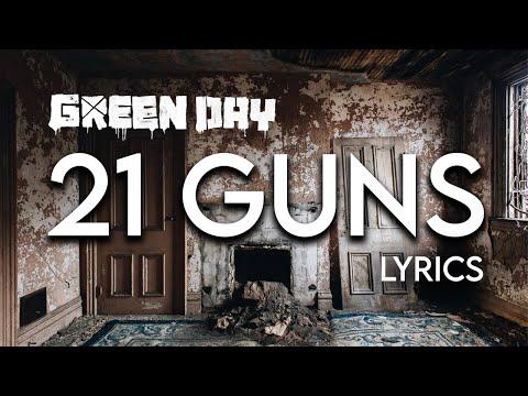 Green Day - 21 Guns Lyrics video