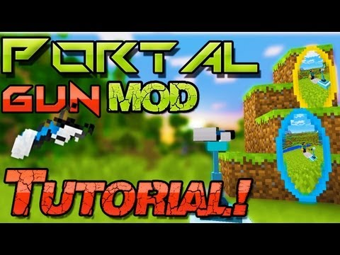 [Neu] Minecraft mods 1.6.4 ➠ Portal Gun Mod Installation - Windows + Mac   german Deutsch