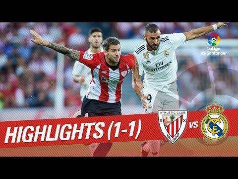 Resumen de Athletic Club vs Real Madrid (1-1) thumbnail