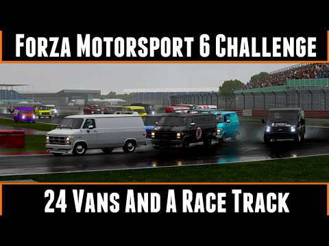 Forza Motorsport 6 Challenge 24 Vans And A Race Track