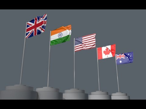 How to make 3d flag in cinema 4D