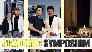 High School Vlog | Academic Symposium