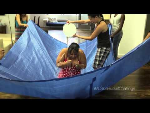 Monica Alvarez ALS Ice Bucket Challenge