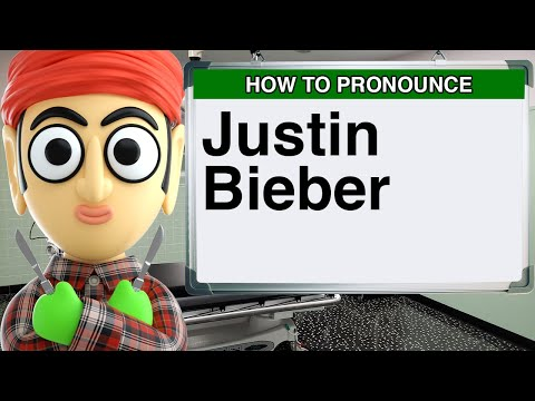 How to Pronounce Justin Bieber Baby Mistletoe Never Say Never Song Video Lyrics SNL YouTube Kidrauhl