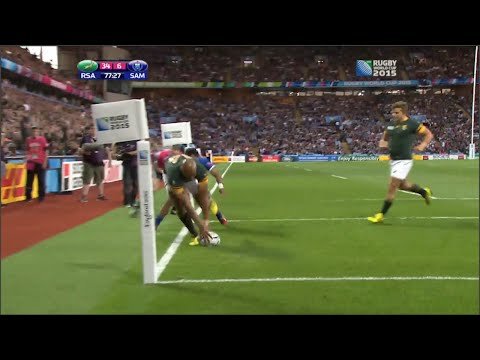 South Africa dominates Samoa in World Cup – Universal Sports