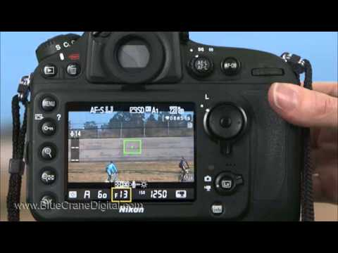 Introduction to the Nikon D800: Advanced Topics