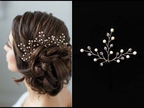 Hair Pins for Hairstyle Hair Vine Accessory Hair comb EASY DIY - YouTube
