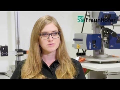 Jaqueline Presti, Wissenschaftliche Mitarbeiterin am Fraunhofer IZFP