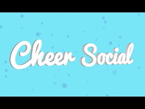 Cheer Social CONNECT YOUR CHEER WORLD! See Link Below! Coming FEB!!