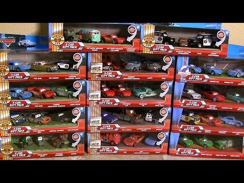 42 CARS Lenticular Eyes Complete Collection