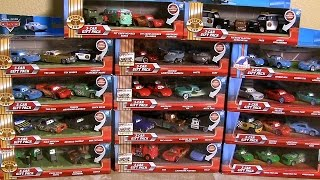 42 CARS Lenticular Eyes 3D Complete Collection Disney Pixar 3Car Pack PistonCup Surprise Boxes