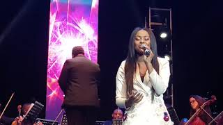 Lebohang Kgapola singing at Gospel Goes Classical 2018