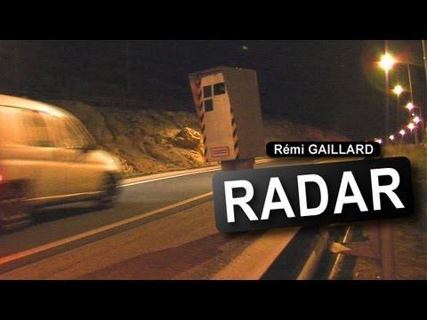 Tráfico - Radar móvil echando fotos