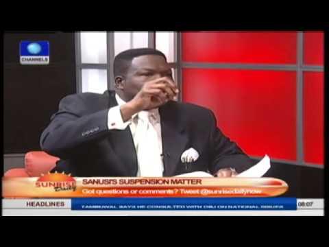 Jonathan Should Have Sacked Sanusi Long Ago -- Mike Ozekhome Pt.3