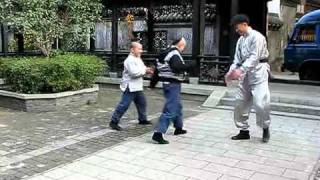 My Kingdom Han Geng Handstand walk competition his and Wu Chun
