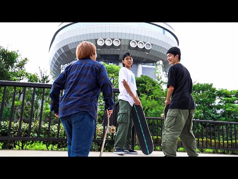 SKATERS DAY IN THE LIFE IN ODAIBA, TOKYO