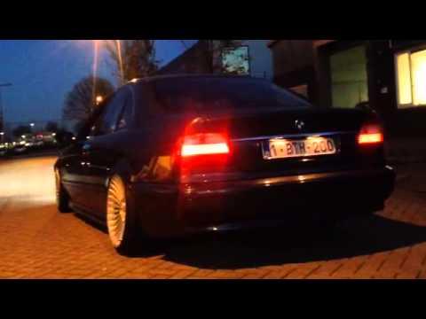 BMW e39 520d RVS sportuitlaat op maat by KCEsportuitlaat