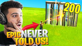 Epic NEVER TOLD US About This HUGE Change! (Counters Sweaty Players) - Fortnite Chapter 2
