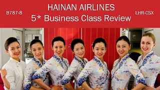 WOW! A Full 5* Experience | Hainan Airlines 787 Business Class Review