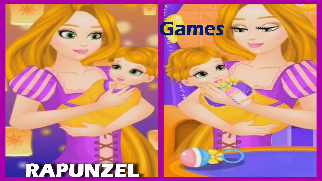 Tangled Princess Rapunzel Game