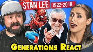 Generations React To Stan Lee (Marvel)