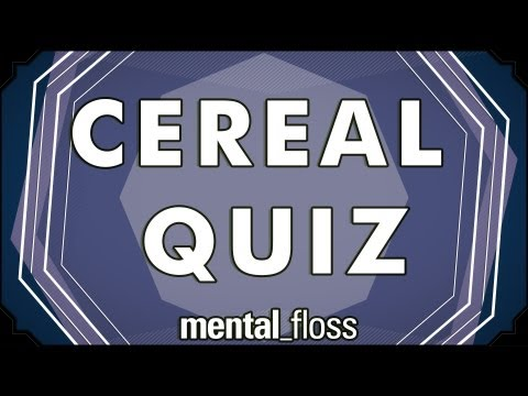 Cereal Quiz! - mental_floss on YouTube (Ep.4)