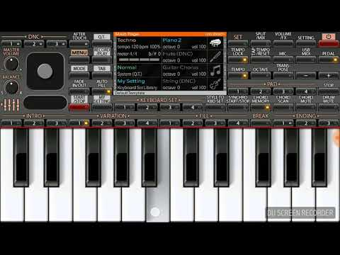 Dil mera churaya kyu (Akele hum, akele tum) on Keyboard