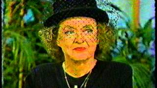 BETTE DAVIS 1981 Interview (1/4)