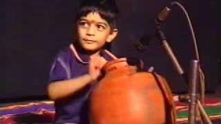 Ghatam Karthick's son K.Sarvesh Ghatam performance in 4 years