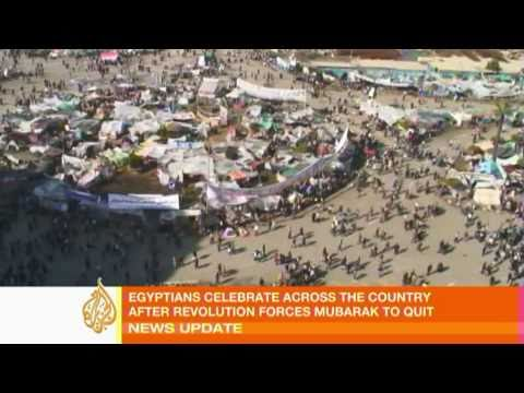 Cairo cleans up after revolution