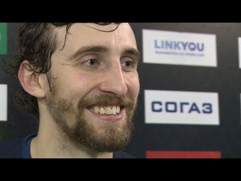 Артем Томилин - о первой шайбе в КХЛ