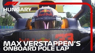 Max Verstappen Takes Pole For The First Time | 2019 Hungarian Grand Prix | Pirelli