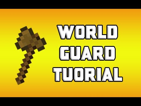 Minecraft: WorldGuard Tutorial - Protect Regions. Disable PvP. and More!