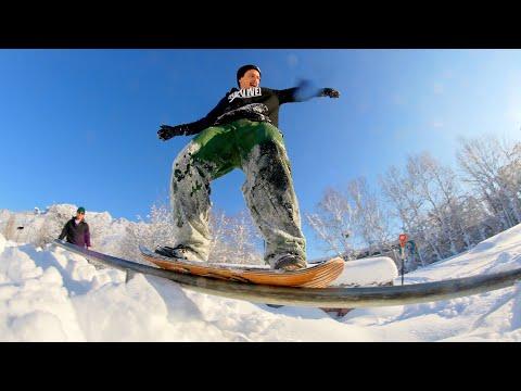 SNOWSKATE VS SKATEPARK