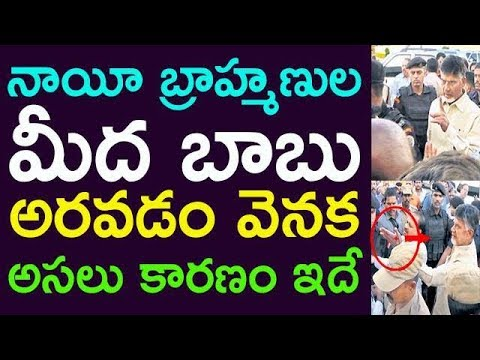 Reason Behind Chandrababu Naidu Shouting At Nayee Brahmin's | Taja 30 |