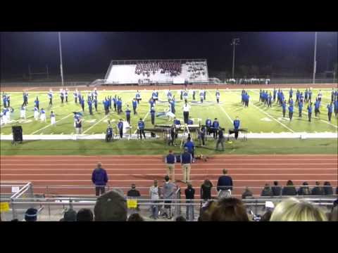 Enid High School Big Blue Band-The Brigade Valley Center KS Win