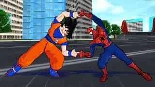 Spiderman and Goku FUSION | Spider-Goku | DBZ Tenkaichi 3 (MOD)