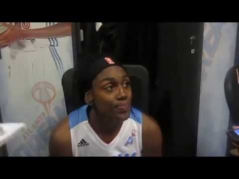 Inside the Inquirer: Postgame presser with Atlanta Dream player Tiffany Hayes 7/5/15