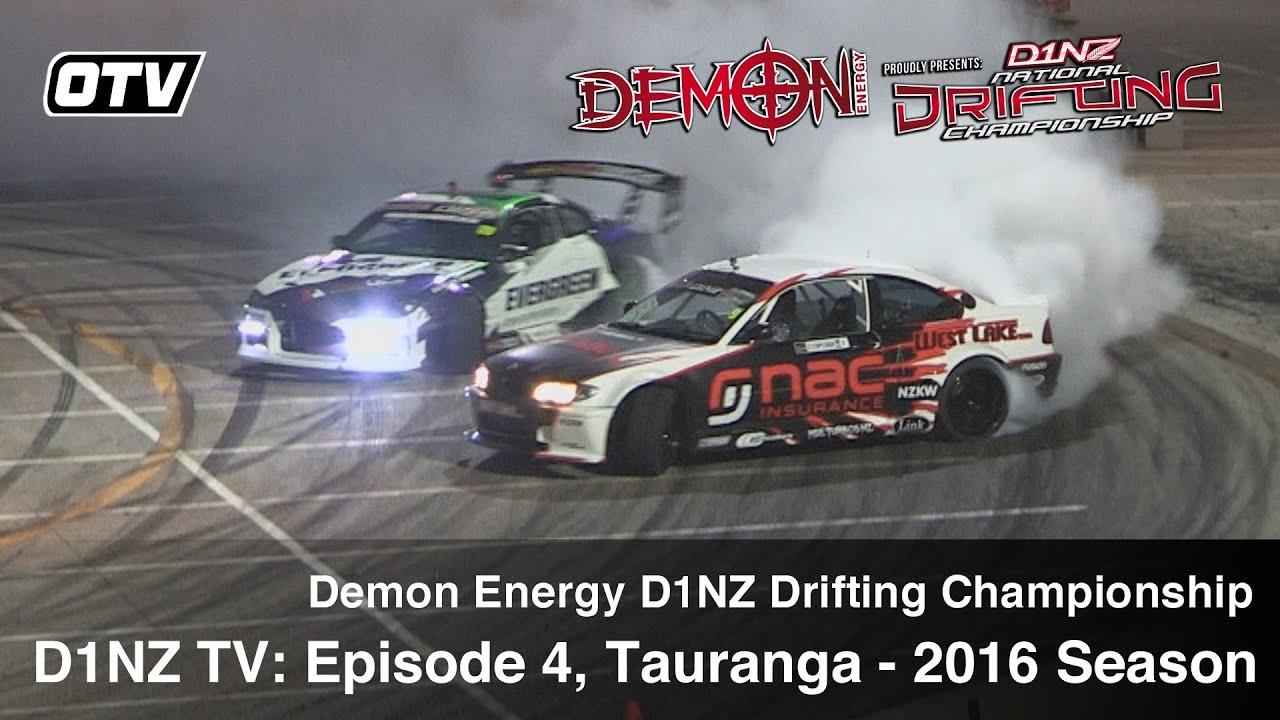 D1NZ Drifting: Episode 4 - R2 Tauranga 2016 Season (D1NZ TV3)