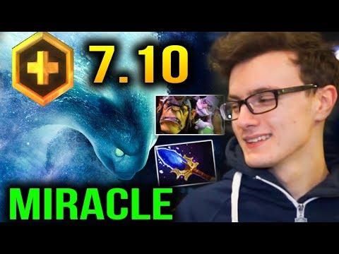 Miracle new Favorite Hero: Morphling - The Transformer Dota 2 Plus 7.10
