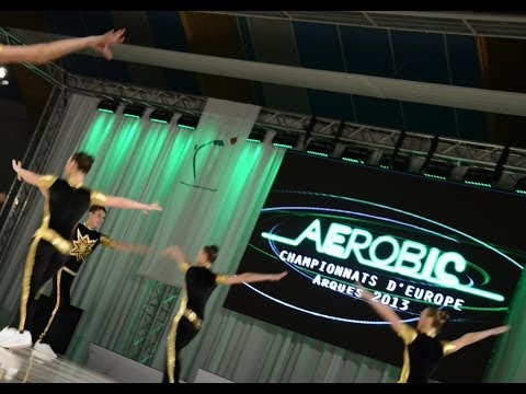 2013 Aerobic European Championships, Arques (fra) - Seniors Finals video