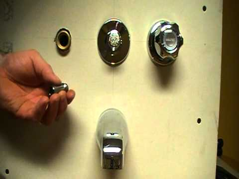 How to fix or repair a leaky bath and shower faucet..Stem and seat replacement. Plumbing Tips