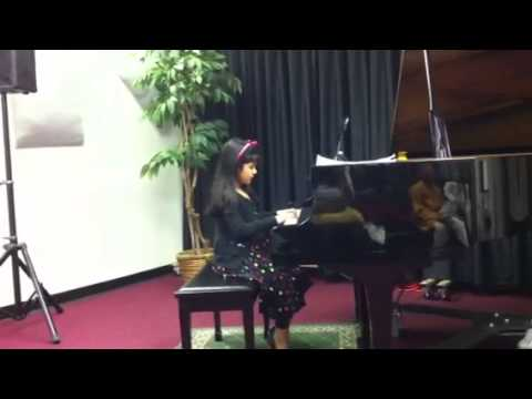 Riya piano recital 2013