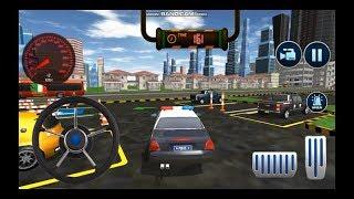 Polis Arabası Park Etme Oyunu // Street Police Car Parking 3D-Multi-Level Car Games HD
