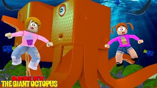 Roblox Escape The Giant Octopus Obby With Molly! - The Toy Heroes Games