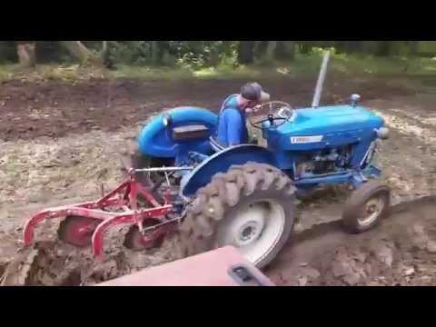 Ford 2000 Gas Plowing