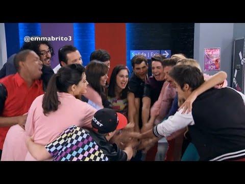 Violetta 3 - Las palabras de Violetta, Pablo y Angie antes del show en Sevilla (03x80)