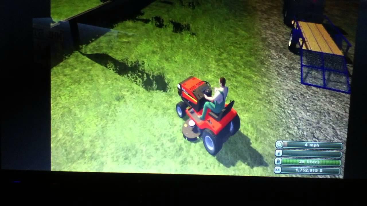 Farming Simulator 2013  Murray Lawn Mower Review