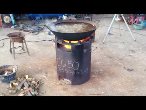เตาชีวมวลขนาดใหญ่ 20 นิ้ว  CG-50 ใช้งานอุตสาหกรรมครัวเรือน